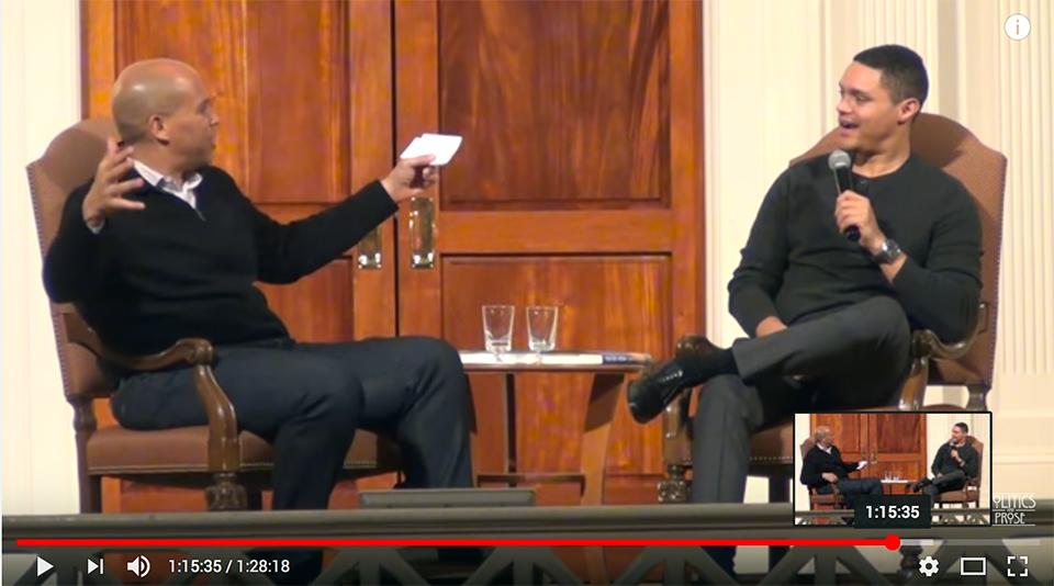 Trevor Noah - shine a light on truth